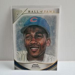 2019 Topps Gallery Hall Of Fame Ernie Banks